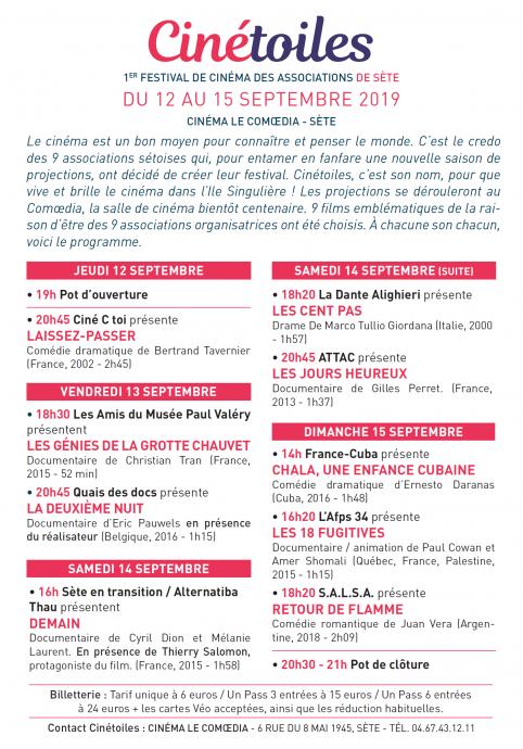 Cinétoiles (Flyer)  2